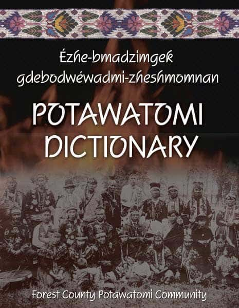 Potawatomi Dictionary - Front
