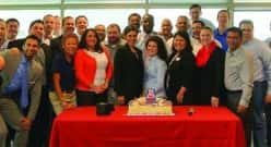 University of Arizona-Eller MBA Class of 2014FCPTribal Member Crystal Deschinny is pictured in the white circle above.