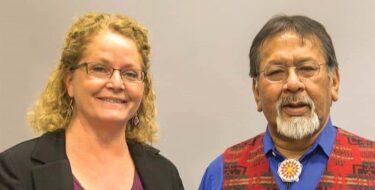 Susan Reetz & Judge Eugene White-Fish
