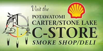 Potawatom Carter/Stone Lake C-Store Smoke Shop/Deli