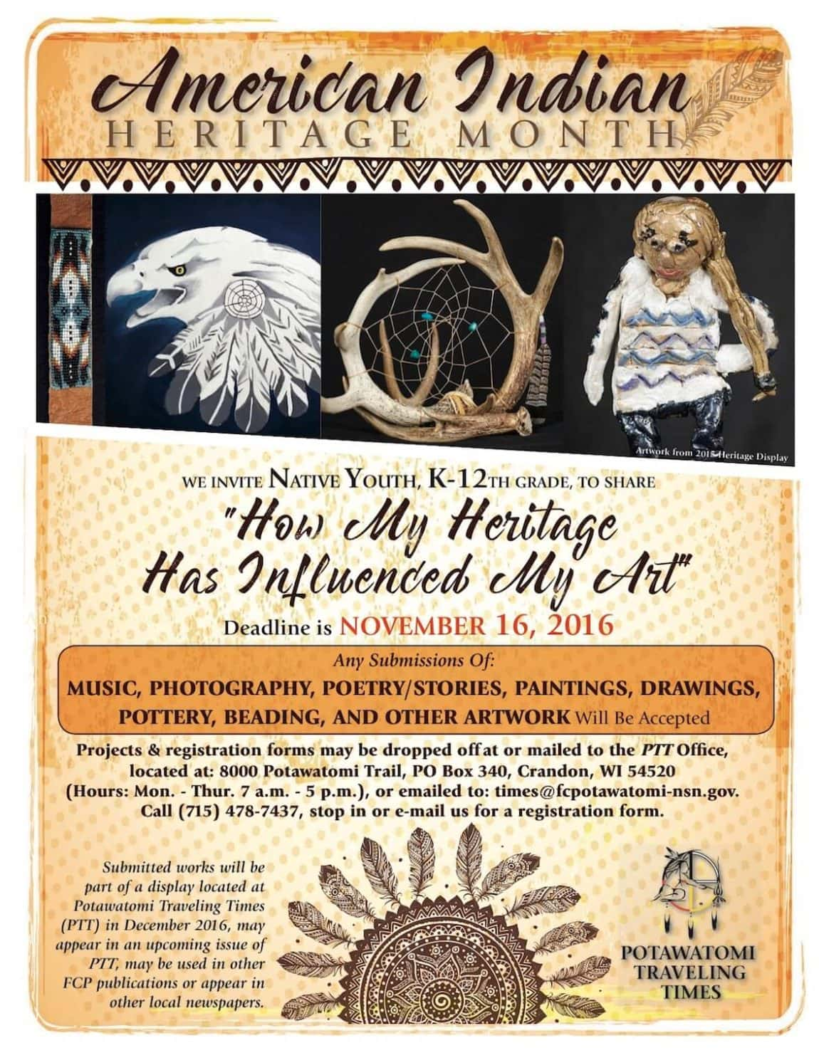 american indian heritage month forest county potawatomi