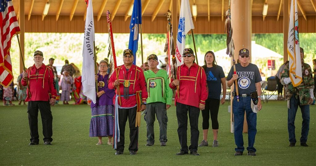 1st Annual Veteran's Powwow Held in Carter