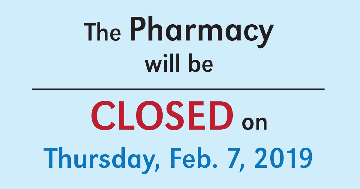 Pharm Closed