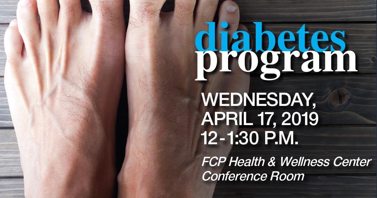 diabetes luncheon april 2019