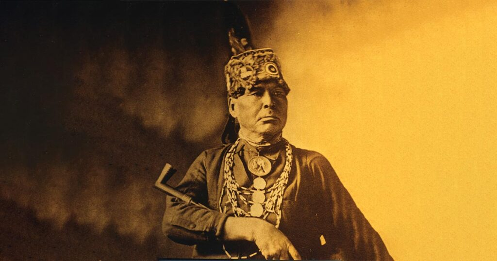 Chief Simon Onanguisse Kahquados