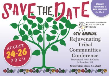 Rejuvenating Tribal Communities Conference @ Potawatomi Hotel & Casino | Milwaukee | Wisconsin | United States