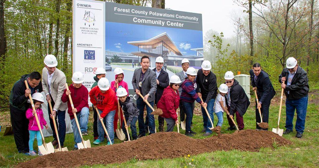 Community Center Ground Breaking