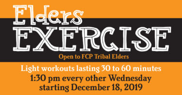 Elders Exercise @ Forest County Potawatomi Recreation | Crandon | Wisconsin | United States