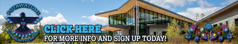Click here to visit the Forest County Potawatomi Community Center website.